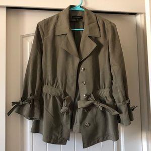Banana Republic belted jacket
